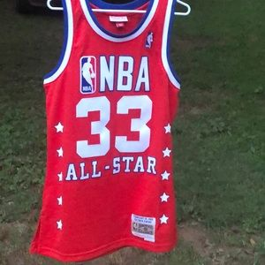 Authentic 1989 Patrick Ewing Nba all-star jersey